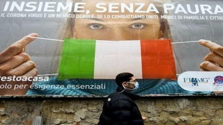 Как живет Италия на тотальном карантине и что делают там украинские заробитчане. СЮЖЕТ