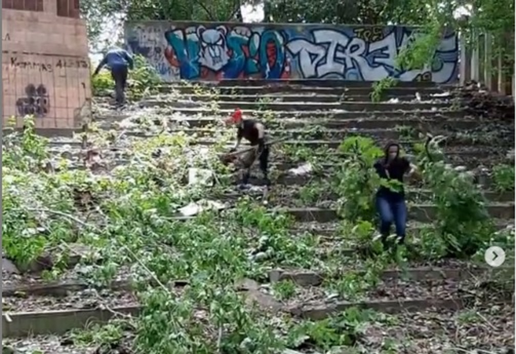 Видеоотчет об итогах летне-осенней общественной кампании по возрождению парка «Юность»