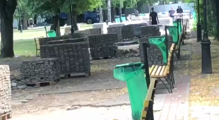Открытый под выборы харьковский парк реконструируют к новым выборам