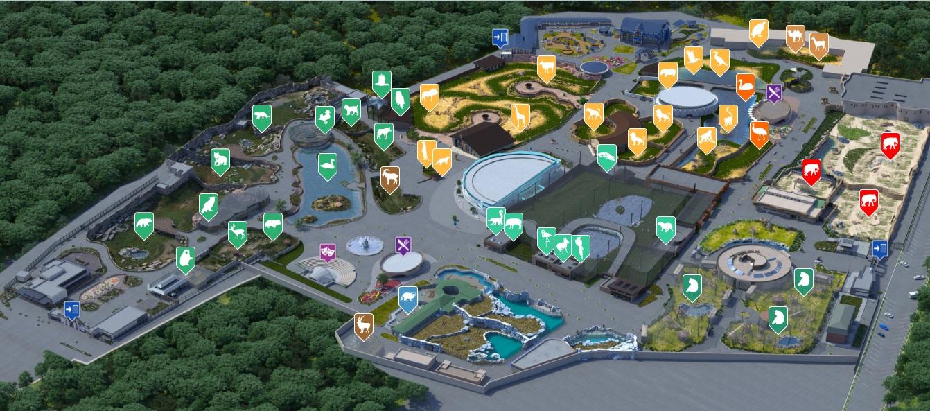 Харьковский зоопарк будет принимать посетителей по минимуму: о чем это свидетельствует